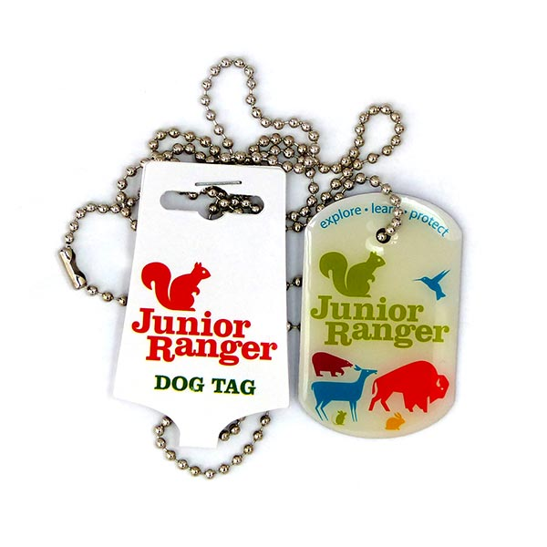 Junior Ranger Dog Tag
