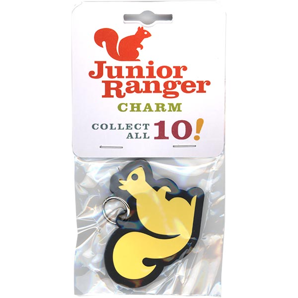 Squirrel Junior Ranger Charm