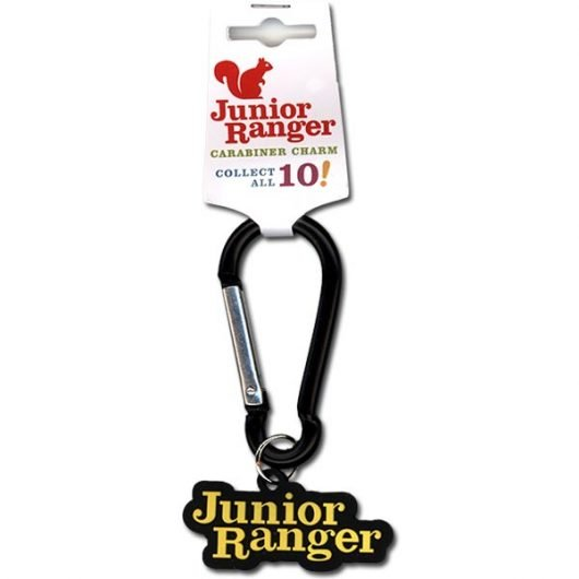 Junior Ranger Carabiner and Charm