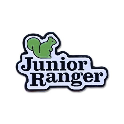 Junior Ranger Squirrel Pin