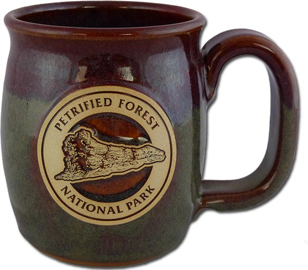 """Petrified Forest """"Old Faithful Log"""" in Cranberry Bog color"""