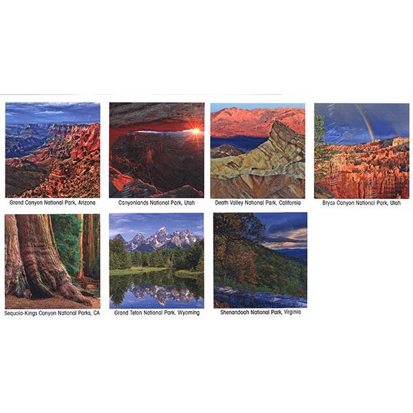 America's National Park 2021 Calendar park images with bonus