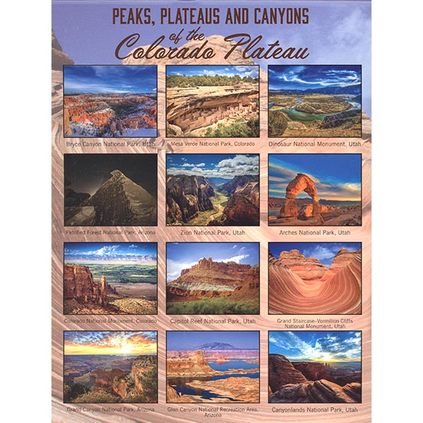 Parks represented in 2021 calendar