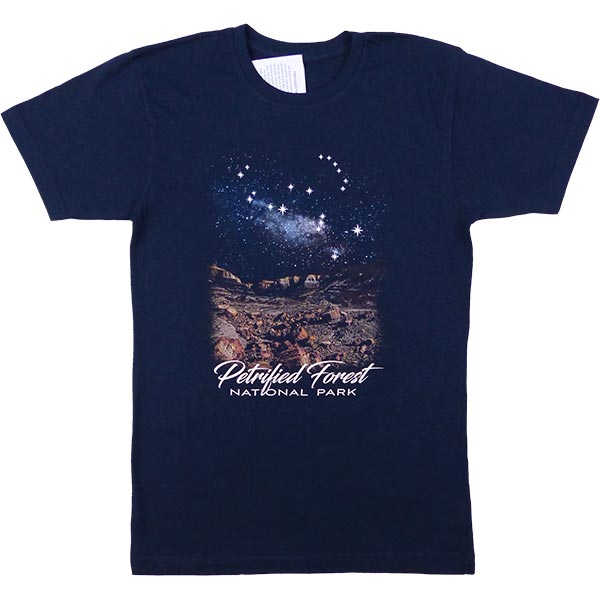 Petrified Forest-Colorado Plateau Dark Sky T-Shirt