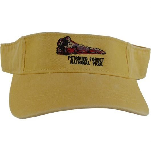 Petrified Forest Logo Visor - Butter Yellow